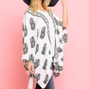SUMMER PONCHO COVER UP